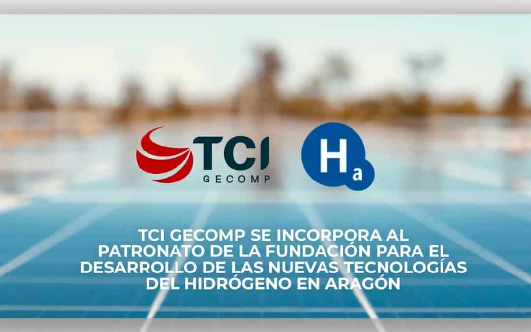 TCI Gecomp  se incorpora al Patronato de la Fundación para el Desarrollo de las Nuevas Tecnologías del Hidrógeno en Aragón